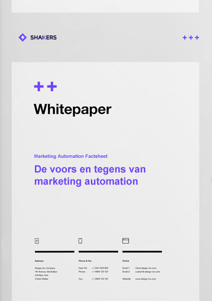Whitepaper: Marketing Automation Factsheet